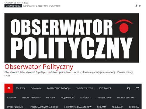 Najlepsze blogi o tematyce politycznej w Polsce