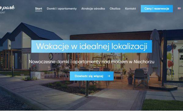 Pozycjonowanie strony internetowej dla Baltic Natur Park