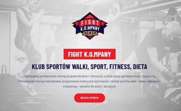 Fight Kompany- treningi Olsztyn i Warszawa, pomoc techniczna i pozycjonowanie SEO Managment