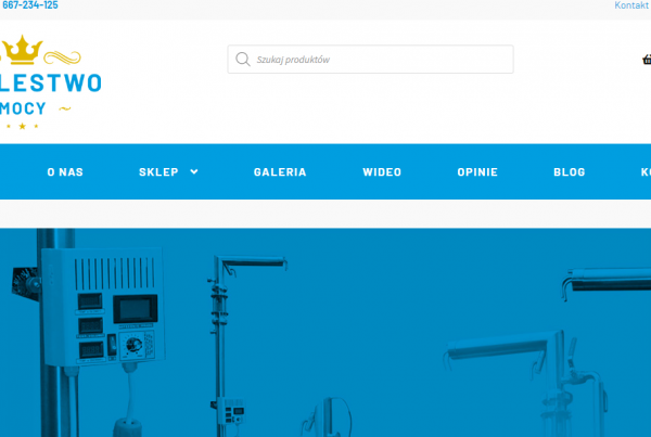 Pozycjonowanie i kampanie ads dla Krolestwomocy- producent urządzeń do destylacji