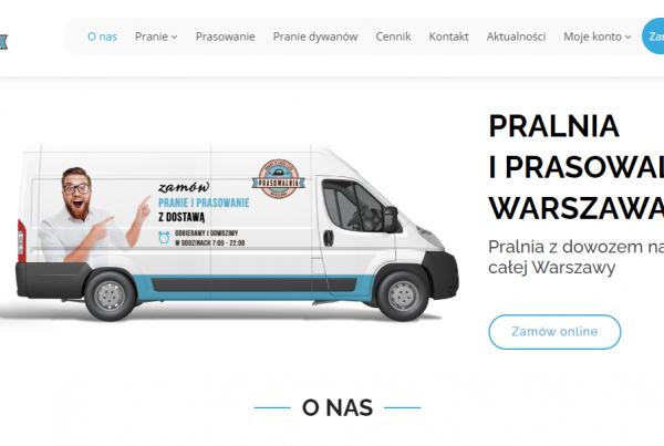 Pozycjonowanie pralni i prasowalni w Warszawie