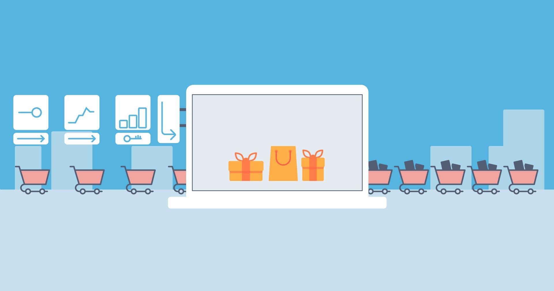 Reklama firmy z udziałem strony internetowej dla potencjalnych klientów
