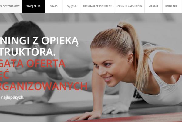 Pozycjonowanie SEO dla siłowni w Olsztynie