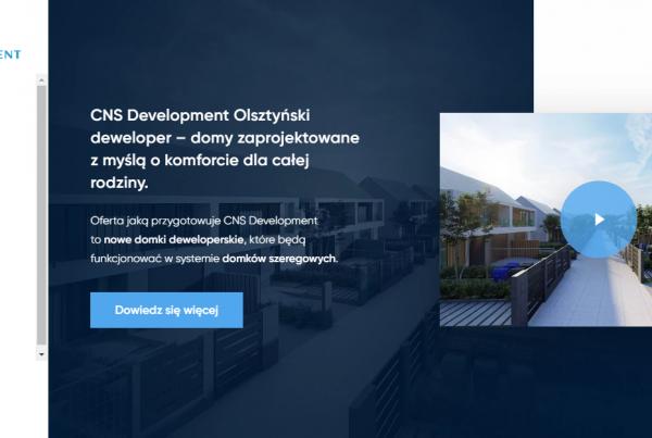 CNS Development - budowa strony www, projekt logo, pozycjonowanie i kampanie ads