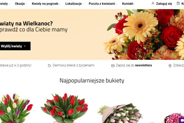 pozycjonowanie kwiaciarni la flora