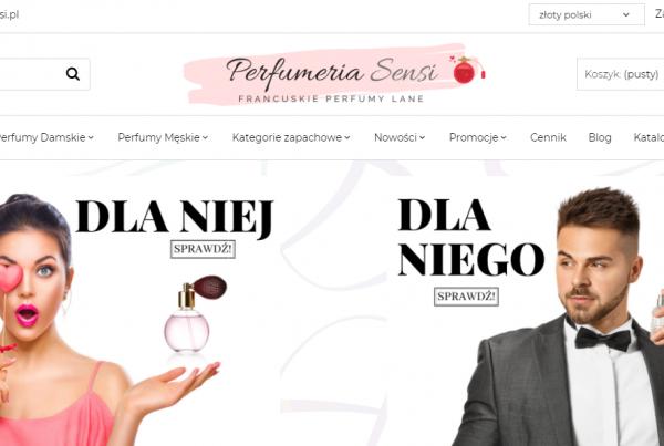 Pozycjonowanie perfumerii online